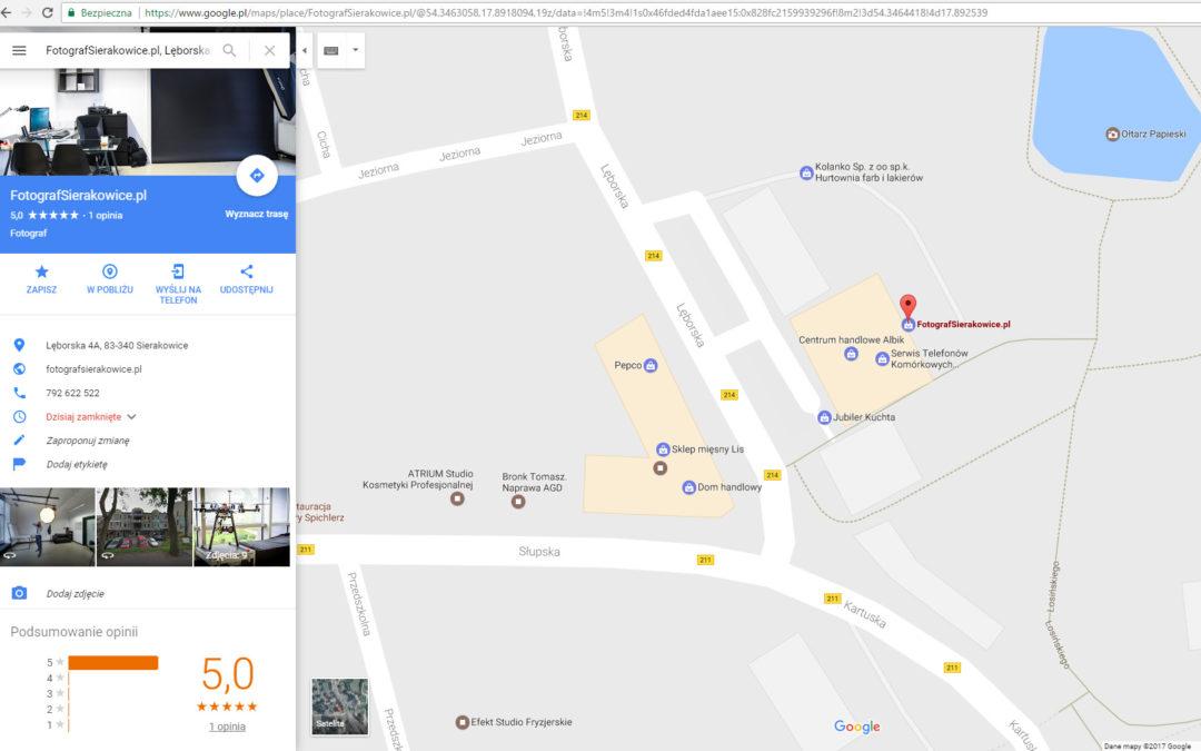 Wpisanie do Google Maps – TO NAPRAWDĘ JEST DARMOWE !